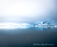 """Blue Mist"", Lemere Channel,  Antarctica"