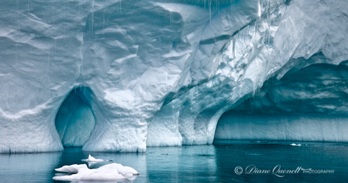 """Ice Cave #3"",  Antarctic Peninsula"